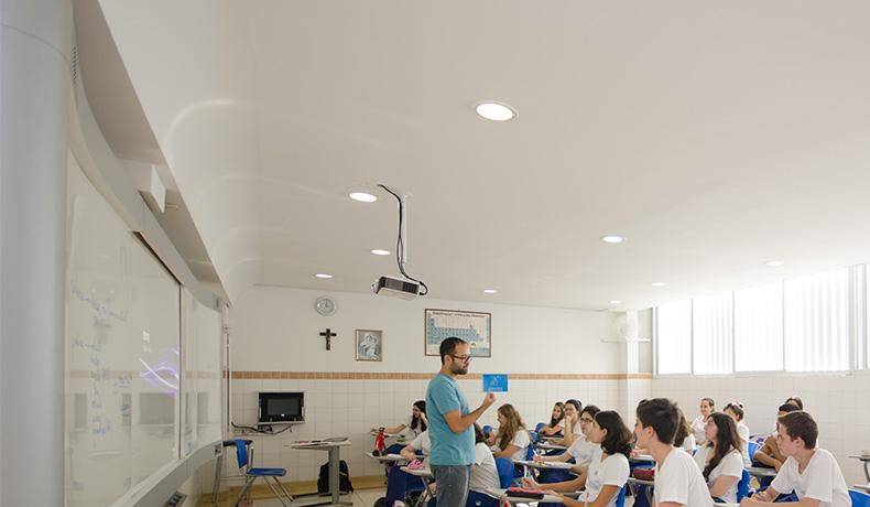 Sala de Aula do Ensino Médio