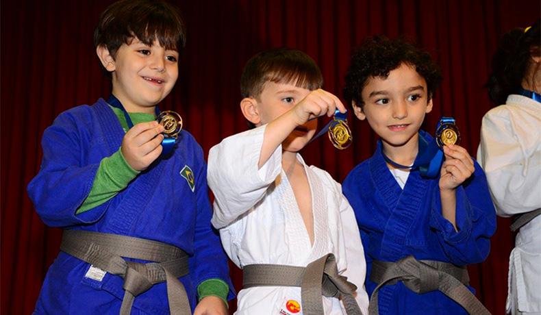 Cerimônia Judô