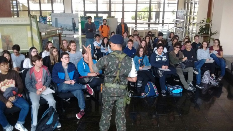 Visita à Academia Militar das Agulhas Negras