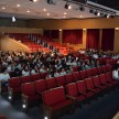 Estudantes do Ensino Médio reunidos no Teatro Consa