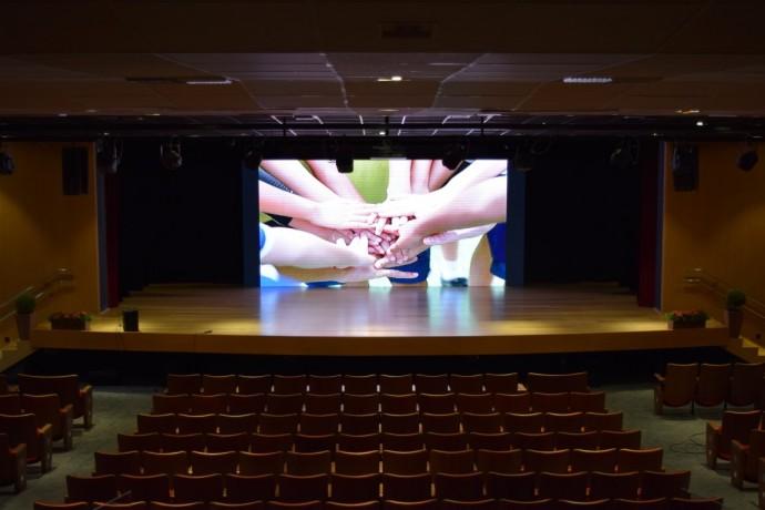 Telão de LED do palco