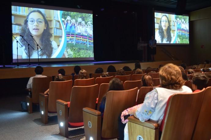 Apresentação do vídeo oficial do Projeto Passaporte Literário
