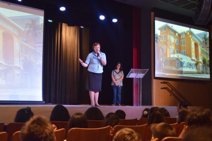 Ir. Priscilla, diretora do Consa, durante abertura da Cerimônia