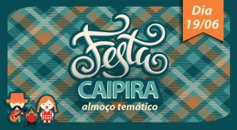 Almoço temático - Festa Caipira -02.
