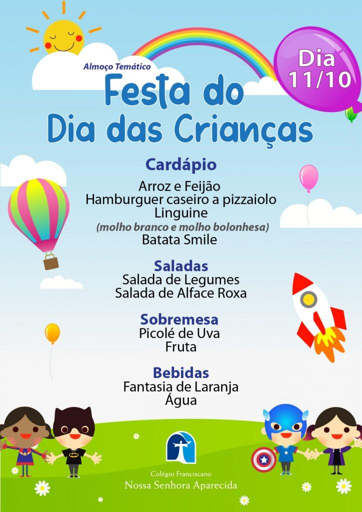 Almoço Temático - Festa do Dia das Crianças-01